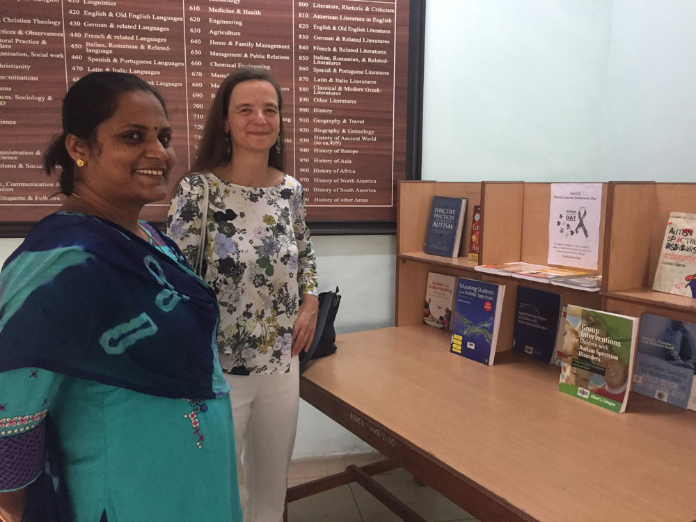 Susanne Rau from Germany visiting HGCL